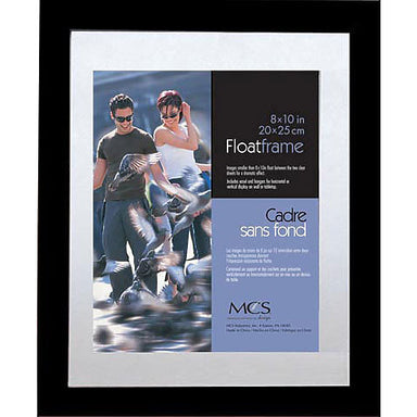 Black Float Frames by MCS - 8 x 10 inches by MCS Frames - K. A. Artist Shop