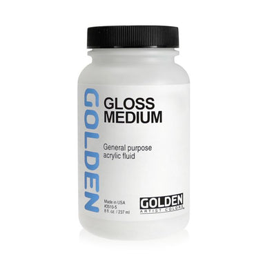 Golden Gloss Medium - 8 oz. - by Golden - K. A. Artist Shop