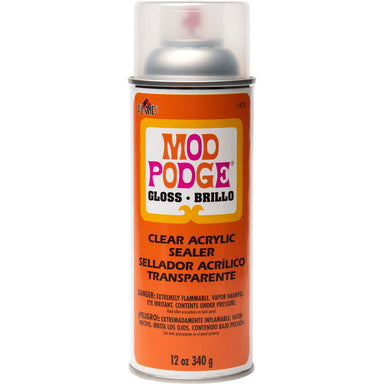 Mod Podge Clear Acrylic Spray Sealer - 12 oz. - Gloss by Mod Podge - K. A. Artist Shop