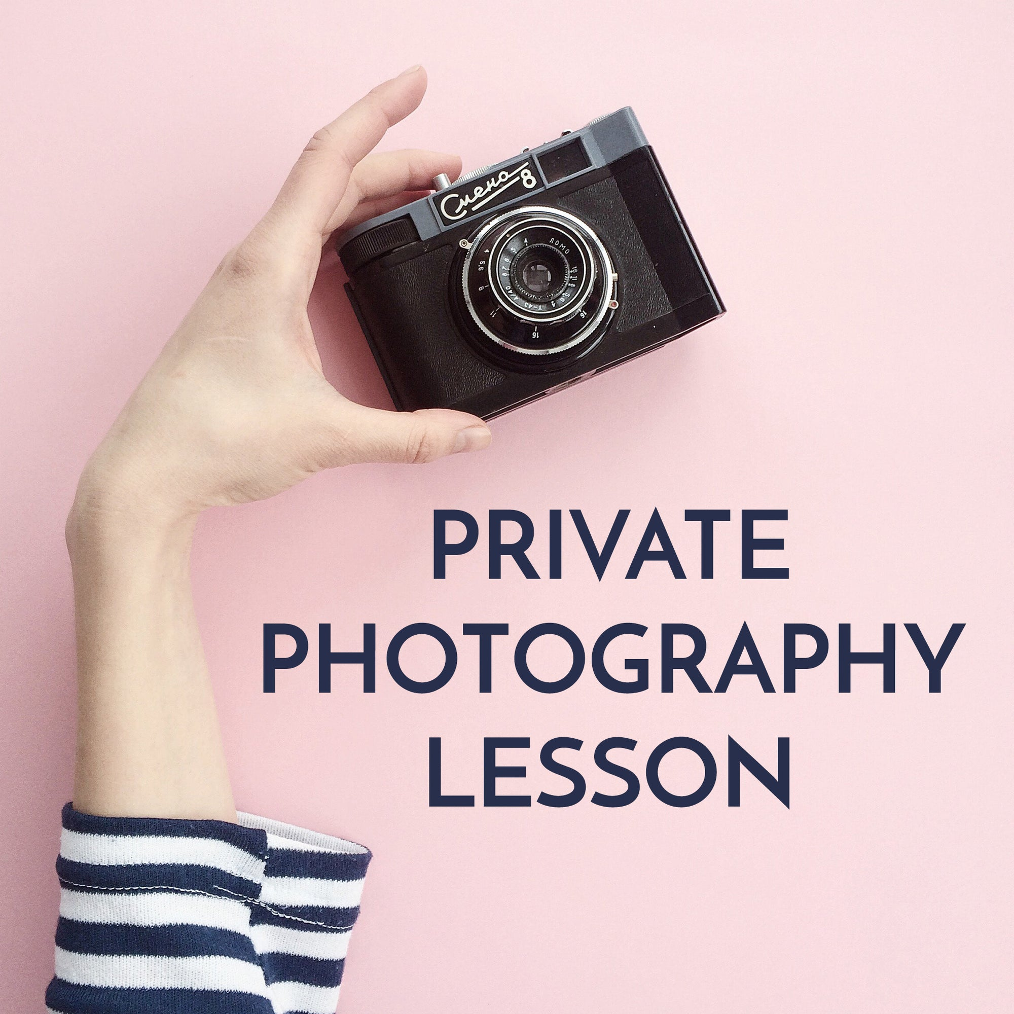 Private Photography Class (online)