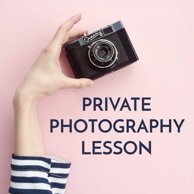 Private Photography Lesson (in-person or online) - by K. A. Artist Shop Classroom - K. A. Artist Shop