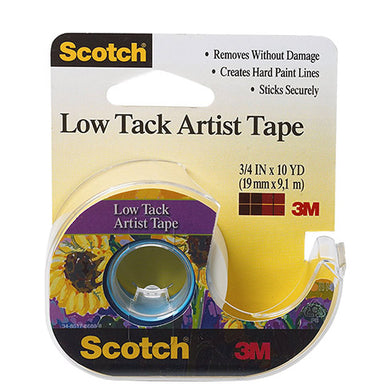 Scotch Low Tack Artist Tape - by Scotch - K. A. Artist Shop