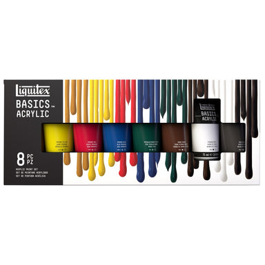 Liquitex BASICS 8-Color Set of Acrylic Paints - by Liquitex - K. A. Artist Shop