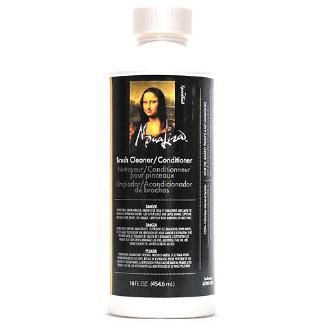 Mona Lisa Brush Cleaner - 16 oz. - by Mona Lisa - K. A. Artist Shop