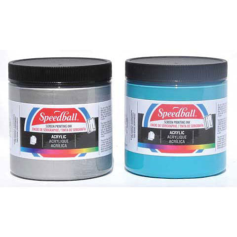 Speedball Acrylic Screen Printing Ink - 8 oz.