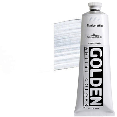 Golden Heavy Body Acrylics - 5oz. / Titanium White - by Golden - K. A. Artist Shop