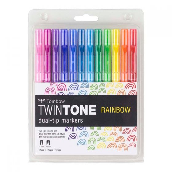 Tombow Twintone Dual Tip Marker Sets - by Tombow - K. A. Artist Shop
