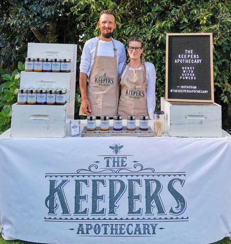 The Keepers Apothecary Team | Market Set Up
