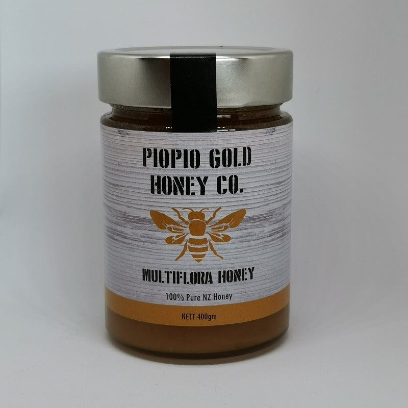 Piopio Gold Honey Co. | Multiflora Honey | Produced in the heart of the King Country | Pure NZ Honey