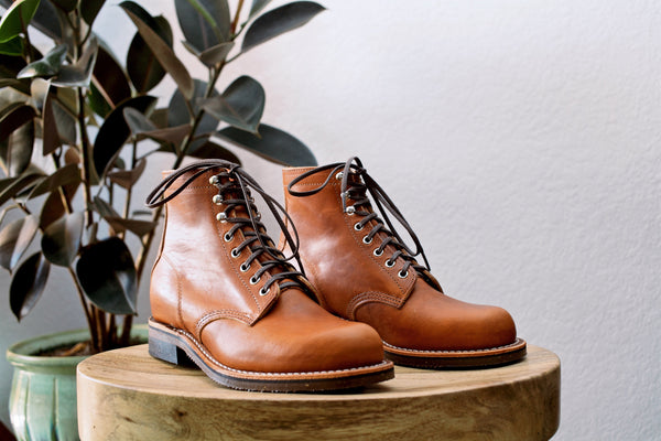 Chippewa 1939 Service Boot English Tan Arcane Supply Co