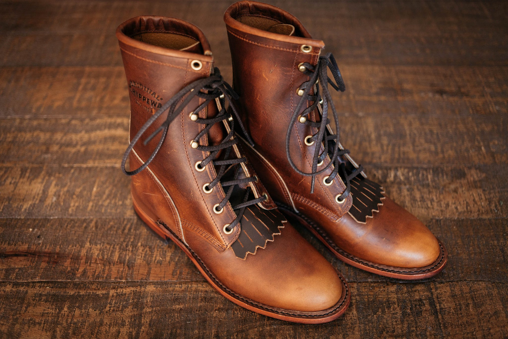 Chippewa Womens Lacer Boot - Renegade Tan Size 6 - Arcane Supply Co. 4921993f33