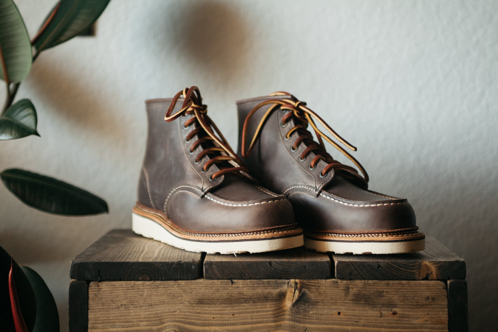 Red Wing Classic Moc - Concrete