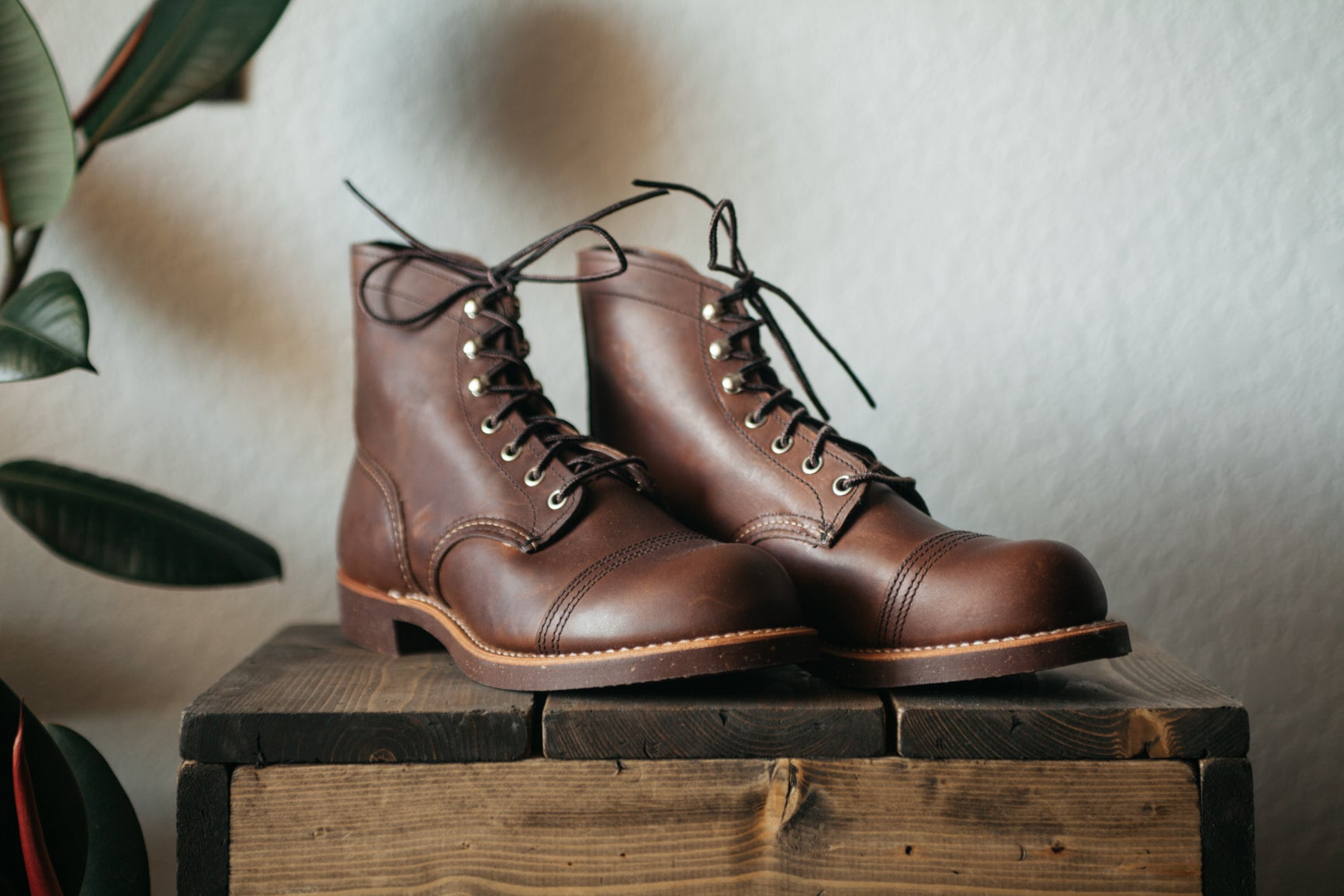 Red Wing Womens Iron Ranger - Amber