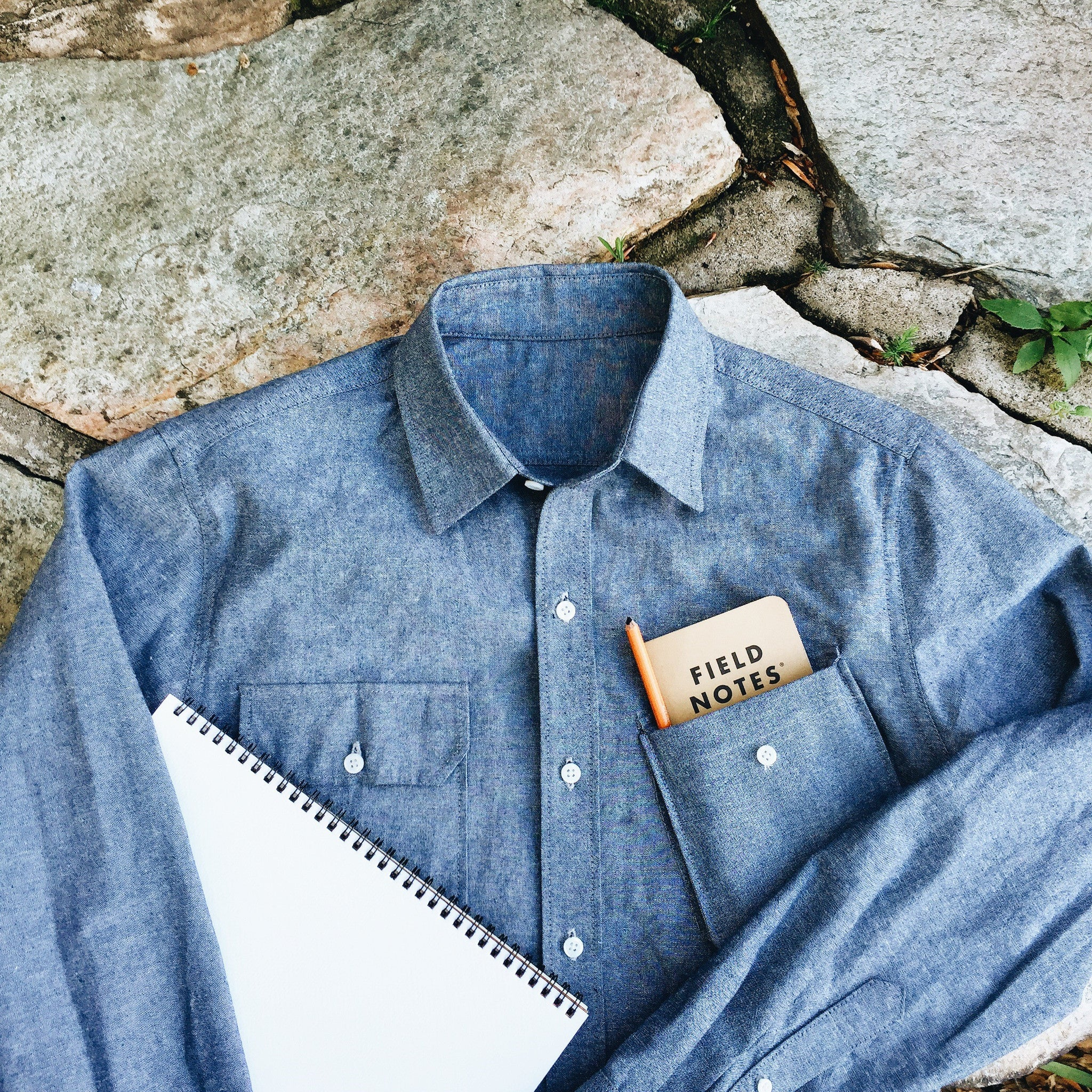 26fca9c494 Chambray Work Shirt Made In Usa - BCD Tofu House