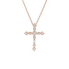 Load image into Gallery viewer, Heart Cross Pendant