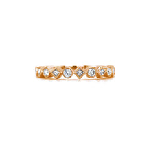 Load image into Gallery viewer, Semi Eternity Princess & Round Ring