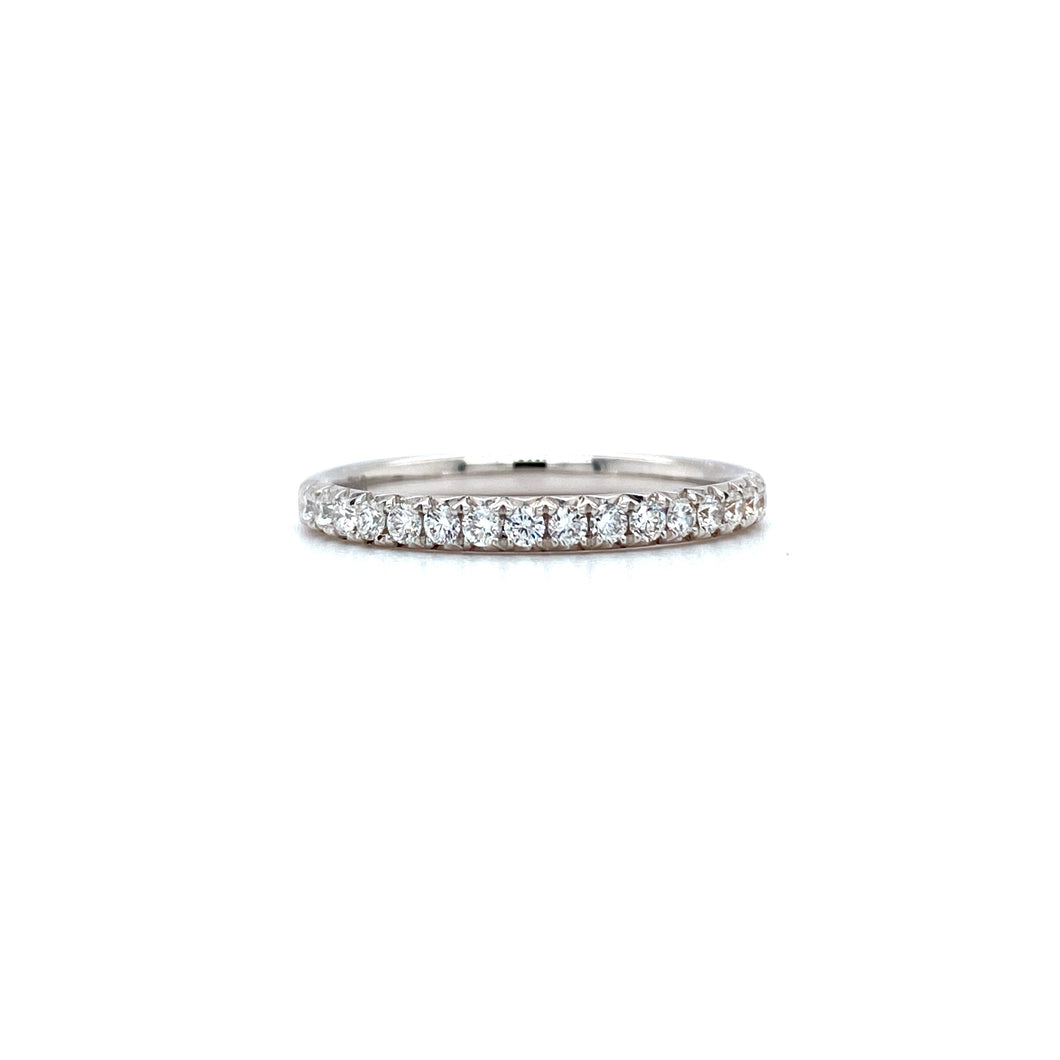 Semi Eternity Fish Tail Ring