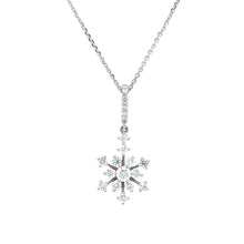 Load image into Gallery viewer, Snowflake Pendant