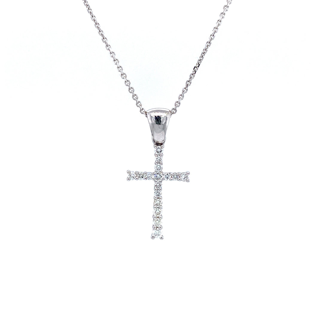 Tapered Cross Pendant