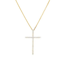 Load image into Gallery viewer, Large Simple Cross Pendant