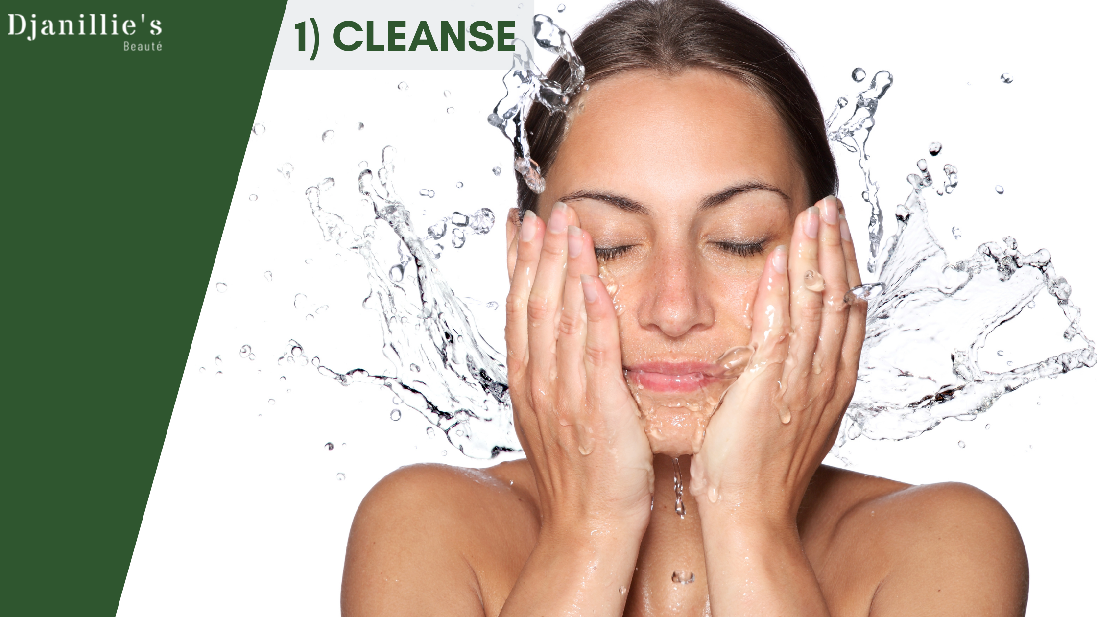 4 Steps Of Skin Care - Cleanse
