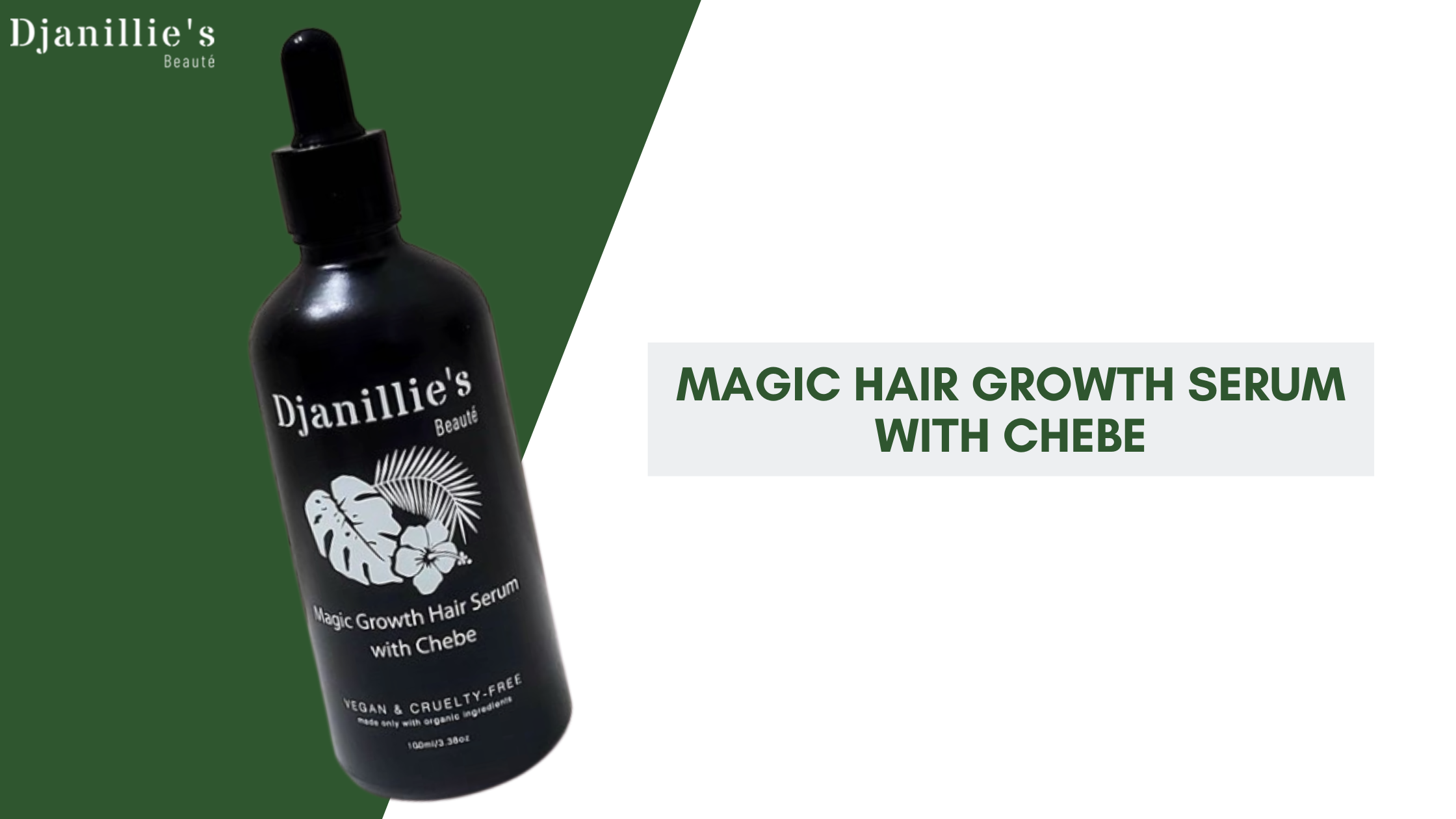 Magic Hair Growth Serum With Chebe