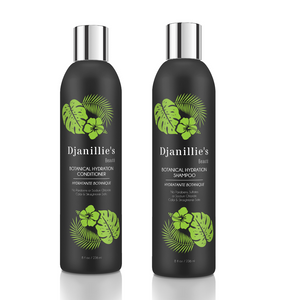 Botanical Hydration Shampoo+Conditioner - Djanillie's Beauté