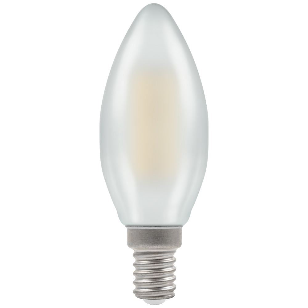 Crompton 5W DimmableLED Candle Pearl Warm White E14