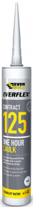 Everbuild 125 1 Hour Caulk White C4