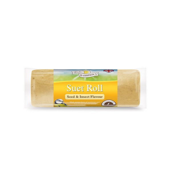 Harrisons Suet Roll Seed & Insect 500g