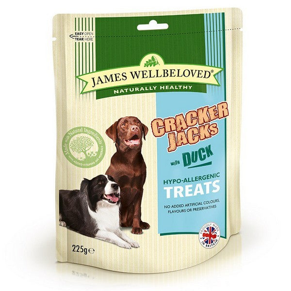 Wellbeloved Crackerjacks Duck 225g