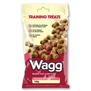 Wagg Training Treats With Chicken and Cheese 125g