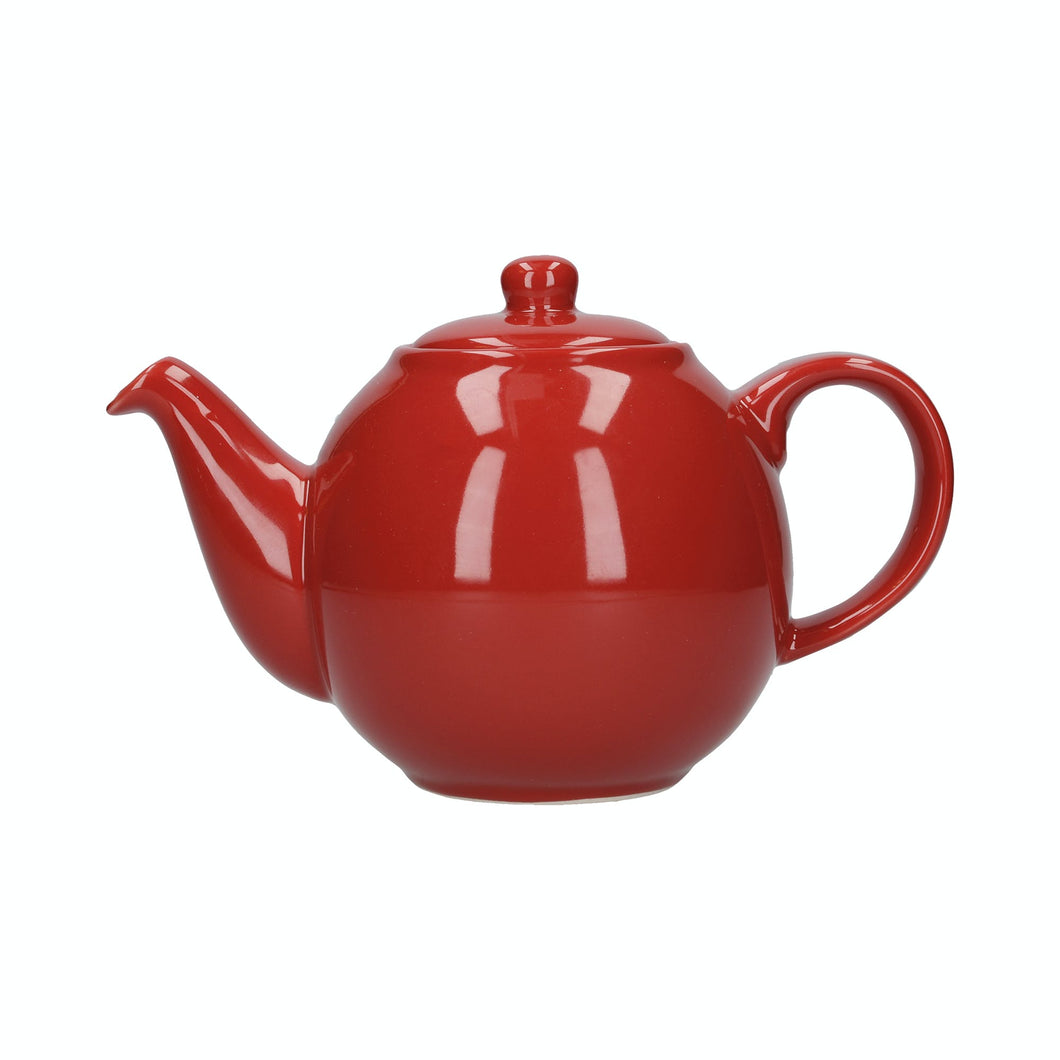 LP Globe 6 Cup Teapot Red
