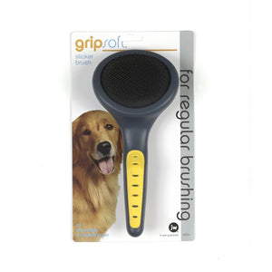 JW Gripsoft Grooming Slicker Brush