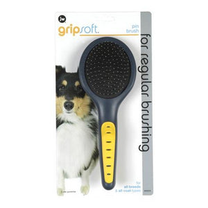 JW Gripsoft Grooming Pin Brush
