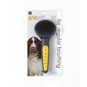 JW Gripsoft Grooming Small Slicker Brush
