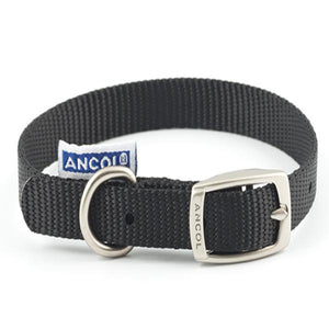 Ancol Nylon Collar Black 18 Inch