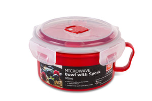 4304 Microwave Bowl with Spork