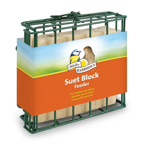 Harrisons Energy Boost Suet Block Cage