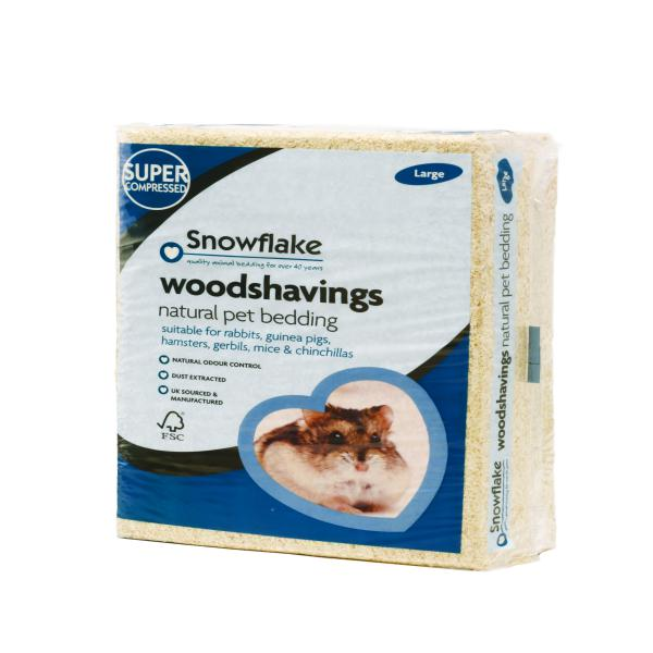 Snowflake Woodshavings 11x40x29cm Large