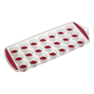 Colourworks Red Pop Out Flexible Ice Cube Tray