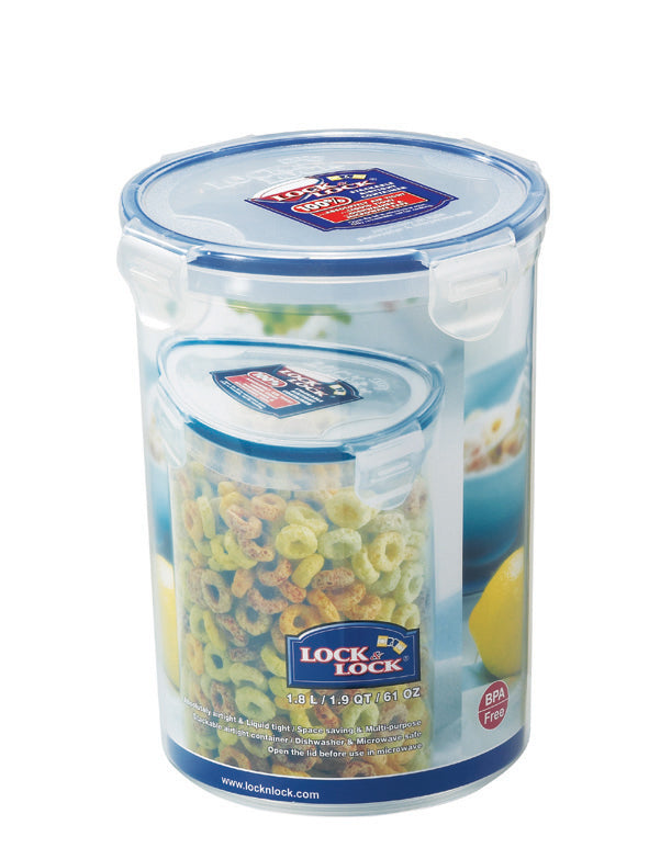 HPL933D Round Food Container 1.8L