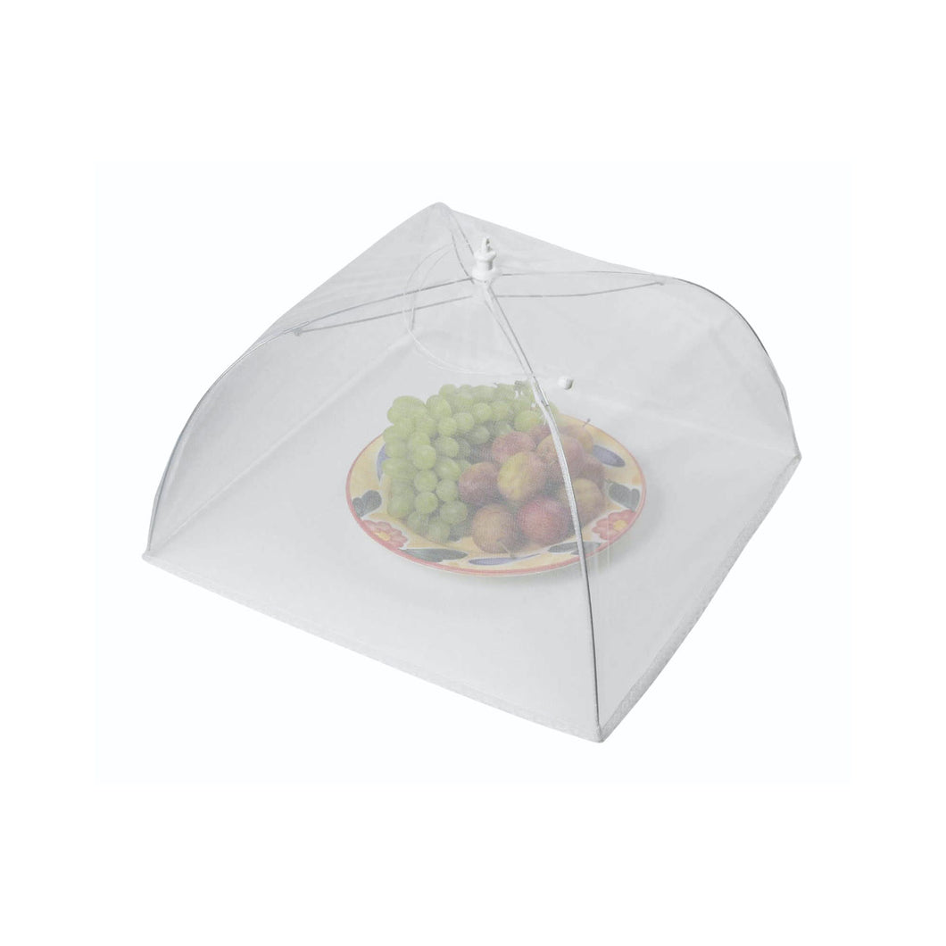 KitchenCraft 40cm White Umbrella Food Cover