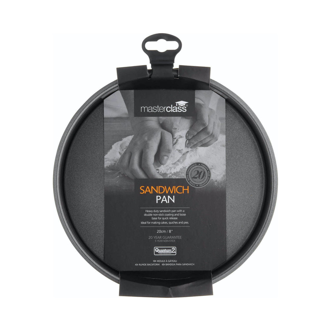 MasterClass Non-Stick 20cm Loose Base Sandwich Pan
