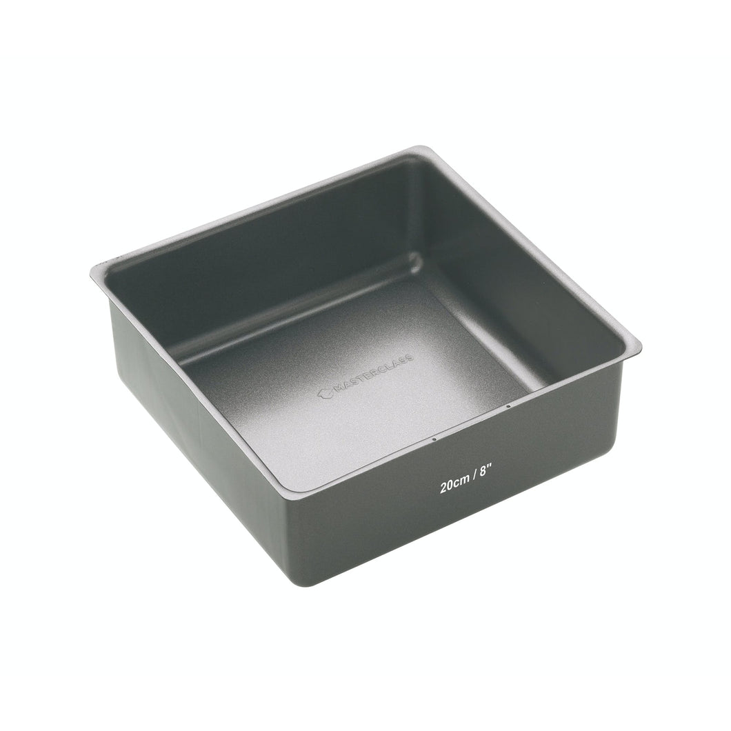 MasterClass Non-Stick 20cm Loose Base Deep Cake Pan