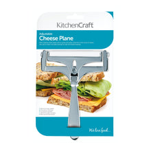 Load image into Gallery viewer, KitchenCraft Deluxe Adjustable Cheese Planer