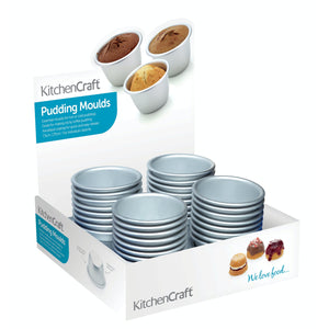 KitchenCraft Anodised Mini Pudding Mould