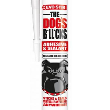 EVO-STIK THE DOGS B*LL*CKS White C3