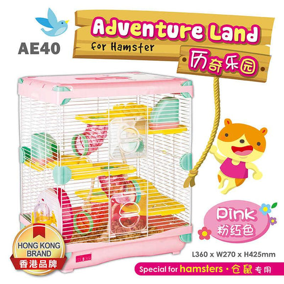 Alice Adventure Land For Hamster (Pink)