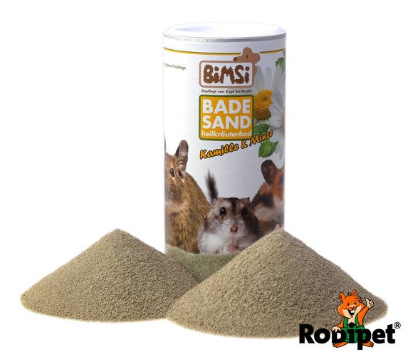 Rodipet BiMSi Chinchilla Dust Mint & Camomile Herbal Bath (1l)
